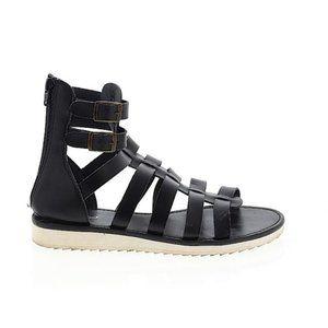 Mossimo Black Claudia Gladiator Sandals